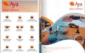 ''AYA, Désirs d'Orient'' opte pour Brochuresenligne.com