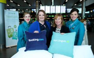 Aer Lingus en partenariat avec Booking.com pour sa division hôtelière