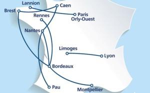 Caen : Chalair lance 2 lignes vers Nantes et Bordeaux