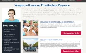 PARISCityVISION renoue avec son activité groupes