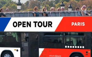 RATP : Open Tour Paris rhabille ses bus