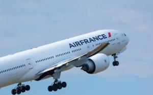 Air France décolle vers Malé aux Maldives