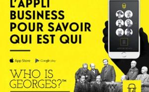 """""""Who is Georges ?"""" connecte les participants lors des événements"""