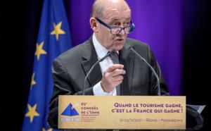 """Jean-Yves Le Drian entend faire rentrer la France """"dans un tourisme de conquête"""""""
