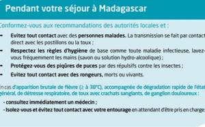 Madagascar : l'épidémie de peste maîtrisée
