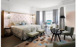 Cannes : l'hôtel Martinez dévoile la nouvelle « déco » de ses suites