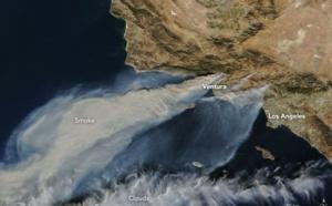 Californie : des incendies aux portes de Los Angeles
