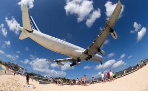Air France : reprise des vols vers Saint-Martin