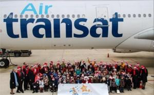 Petits Princes : Air Transat embarque 50 enfants à la recherche du père Noël