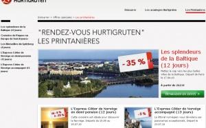 Hurtigruten lance des ventes flash