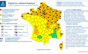 Tempête : Eleanor traverse le Nord et l'Est de la France