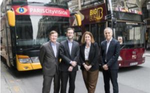 PARISCityVISION associé à Big Bus Tours