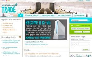 Air New Zealand : nouveau site B2B pour les agences