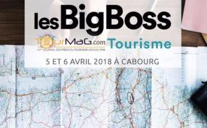 Les BigBoss Tourisme débarquent à Cabourg les 5 et 6 avril 2018
