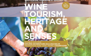 ESC Troyes ouvre un DU & Bachelor, Wine Tourism, Heritage and Senses