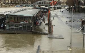Crue de la Seine (Paris) : les trafics du RER C et routier fortement impactés