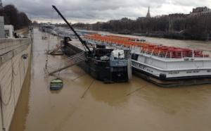 Crue de la Seine : les compagnies de croisières fluviales à l'arrêt