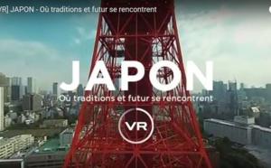 Japon : le JNTO crée un spot promo en 360°