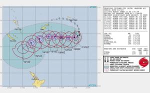 Ouragan Gita : Tonga en état d'urgence