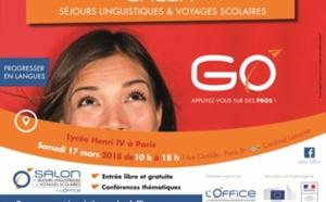 Le salon des séjours linguistiques se tiendra le 17 mars 2018