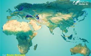 Paris-Téhéran : Mahan Air opérera une 4e fréquence