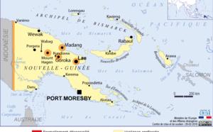 Papouasie-Nouvelle-Guinée : séisme de magnitude 7,5
