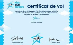 Air Transat : le club enfants se refait une jeunesse