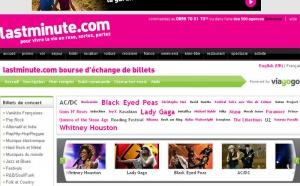 lastminute.com lance l'échange de billets de spectacles