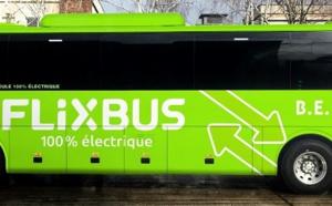 FlixBus : une première ligne opérée par des autocars électriques