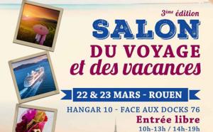 Périer Voyages : le Salon du Voyage et des Vacances se tiendra à Rouen