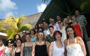 Ile Maurice : les agents de voyages Marseillais au Beau Rivage