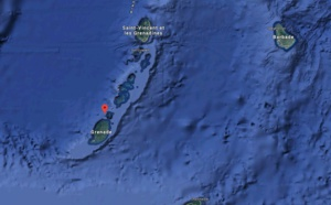 Le volcan Kick'em Jenny impacte la plaisance dans la Caraïbe