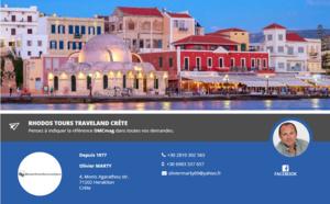 Crète : Rhodos Tours Traveland Crète débarque sur DMCMag.com