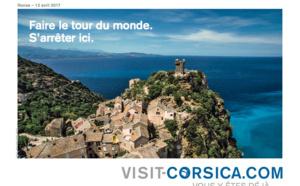La Corse lance une campagne de publicité radio