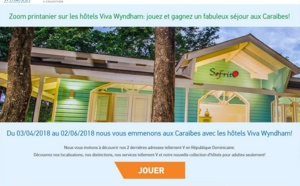 Gagnez un séjour aux Caraïbes avec Viva Wyndham Resorts