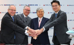 Nouvelle joint-venture entre Delta Air Lines et Korean Air