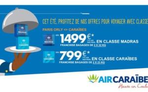 Air Caraïbes : offre spéciale sur la classe affaires