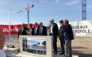 Bordeaux : pose de la 1ère pierre du nouveau hall d'expositions et de congrès
