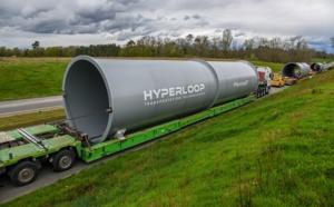 Hyperloop : les premiers tubes arrivent en France