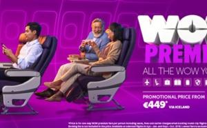 WOW air lance un tarif premium pour les voyageurs affaires