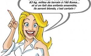 Mondial de Foot : Léa, la blonde, perd la boule...