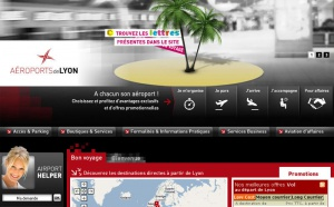 Aéroports de Lyon : le site web fait peau neuve