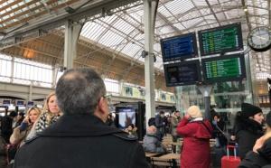 Grèves SNCF : 2 TGV sur 5 et peu d'Intercités