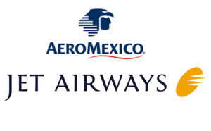 Aeromexico et Jet Airways en partage de code