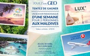 L'OT des Maldives organise un jeu-concours sur Geo.fr