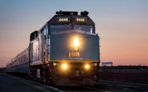 Train : VIA Rail Canada affiche un chiffre d'affaires en hausse de 12%