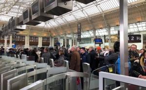 Grève SNCF : un trafic très perturbé aujourd'hui