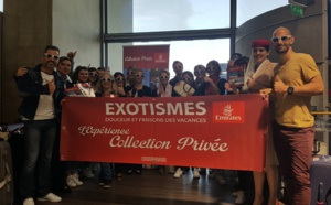 Challenge Collection Privée : Exotismes emmène 14 agents de voyages à l'Ile Maurice !