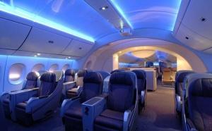 Salon de Farnborough : le Boeing B-787 Dreamliner traverse l'Atlantique