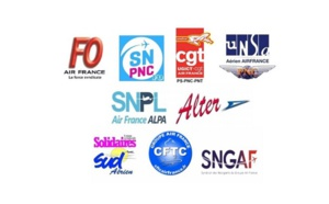 Grève Air France : l'intersyndicale suspend le préavis du 23 au 26 juin 2018